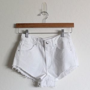 Topshop Moto Kiri Denim Shorts